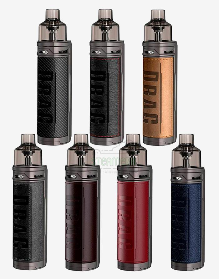 DRAG X 18650 Mod Pod Kit - Steam E-Juice | The Steamery