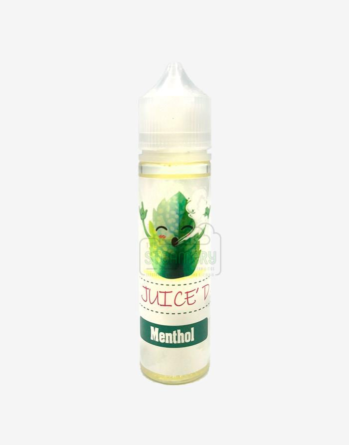 Juice'd - Menthol 60ml - Steam E-Juice | The Steamery