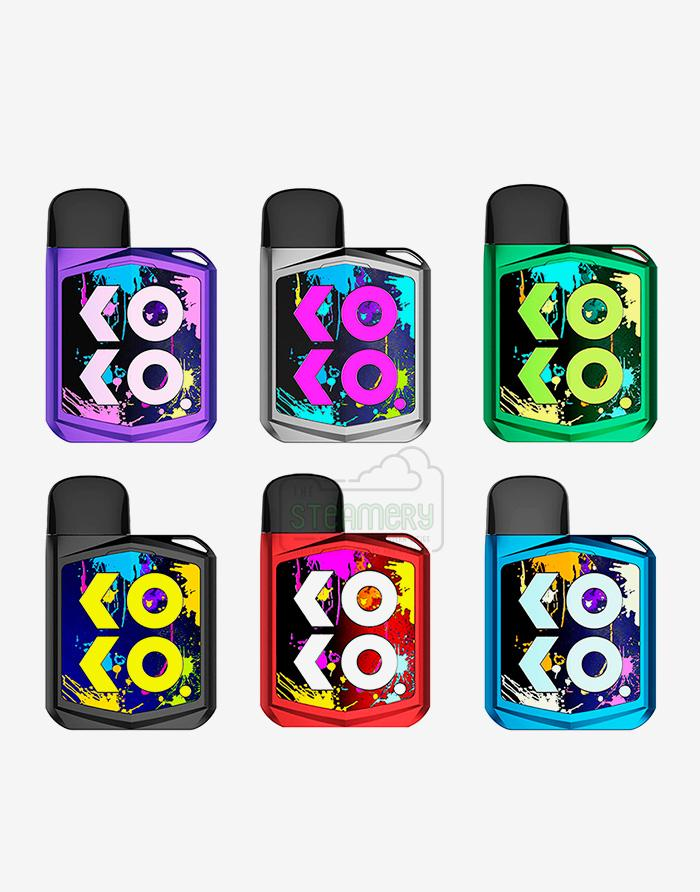 Uwell Koko Prime Pod Starter Kit - Steam E-Juice | The Steamery