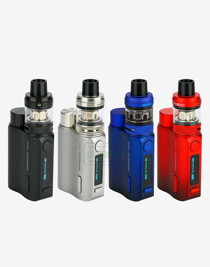 Vaporesso Swag II 80W TC Kit with NRG PE Tank - Steam E-Juice | The Steamery