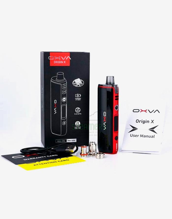 Oxva Origin X Pod Mod Kit - Steam E-Juice | The Steamery