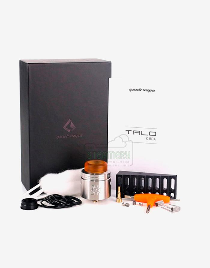 GeekVape Talo X RDA - Steam E-Juice | The Steamery