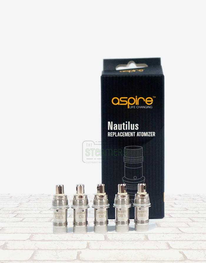 Aspire Nautilus BVC - Steam E-Juice | The Steamery