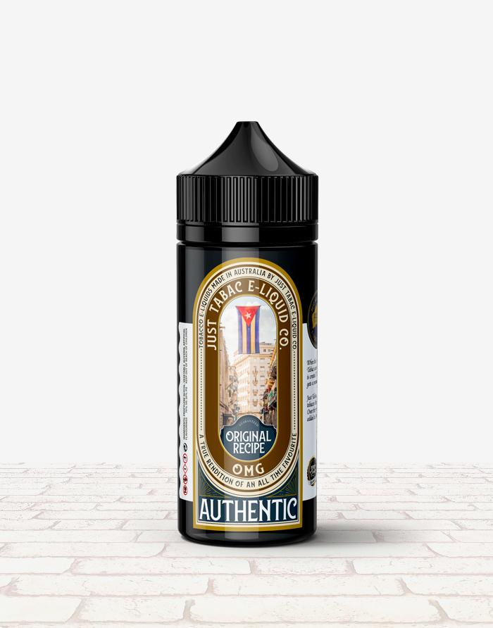 Just Tabac - Authentic - Steam E-Juice | The Steamery