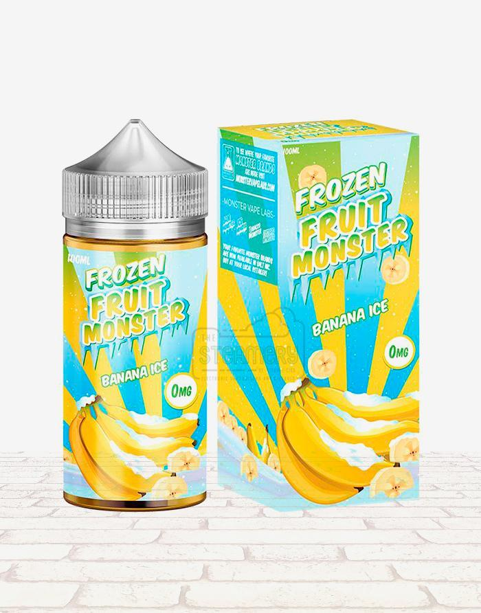 Frozen Fruit Monster Banana Ice - Steam E-Juice | The Steamery