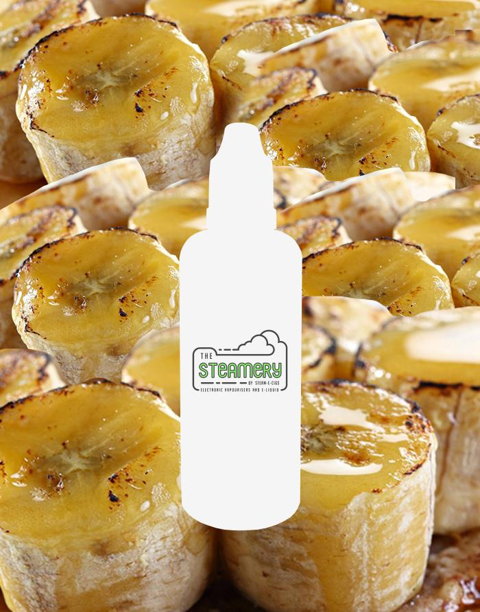 Caramelized Banana - Steam E-Juice | The Steamery