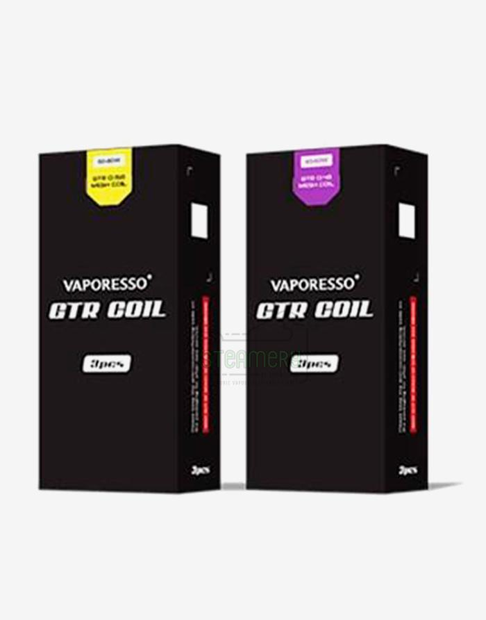 Vaporesso GTR Coil (3 Pack) - Steam E-Juice | The Steamery
