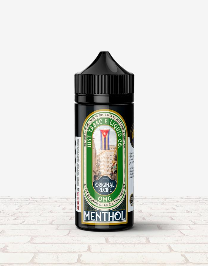 Just Tabac - Menthol - Steam E-Juice | The Steamery