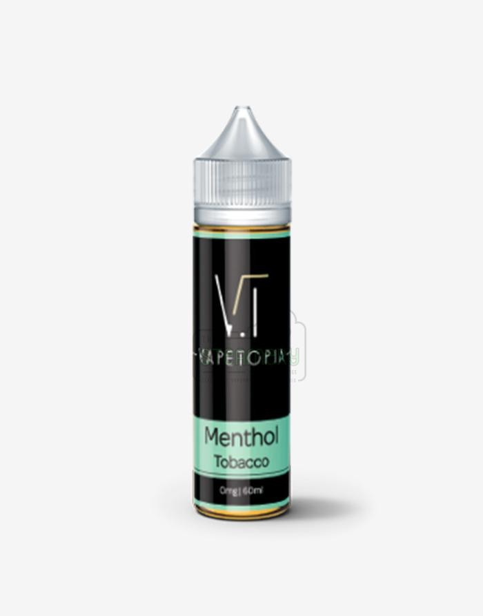 Menthol Tobacco - Steam E-Juice | The Steamery