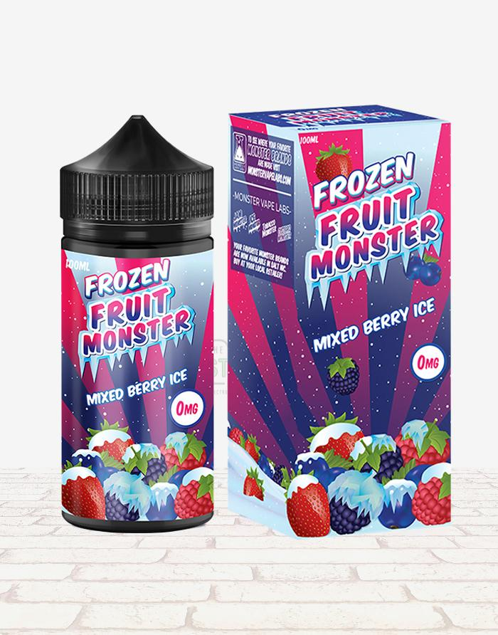 Mixed Berry Ice - Steam E-Juice | The Steamery