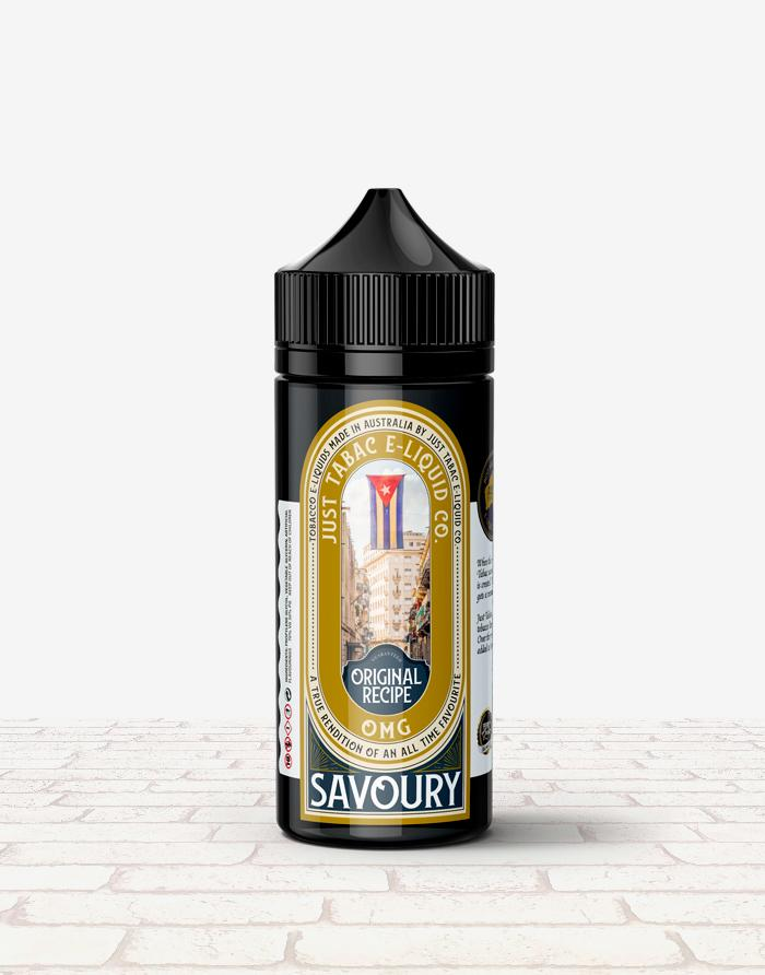 Just Tabac - Savoury - Steam E-Juice | The Steamery