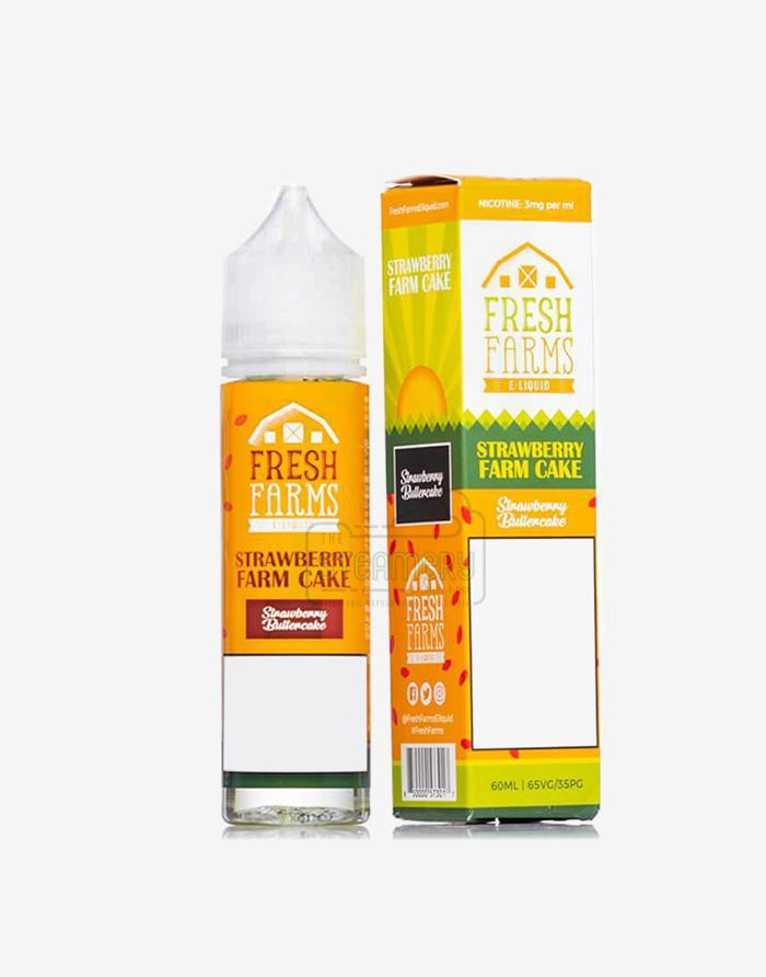 Strawberry Farm Cake - Steam E-Juice | The Steamery