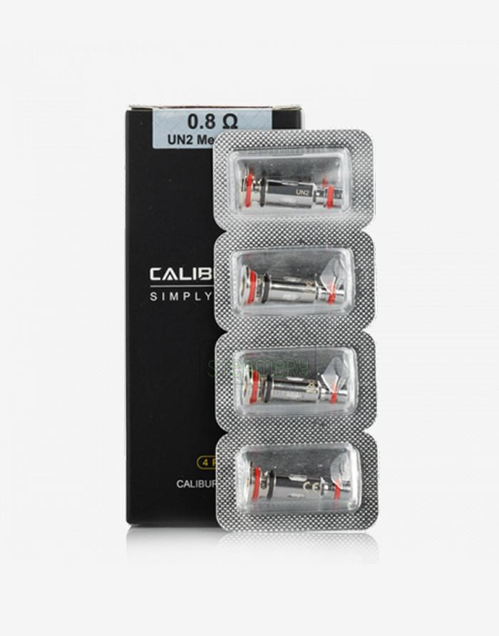 UWELL CALIBURN G/ KOKO Prime REPLACEMENT COILS UN2-Meshed H 0.8ohm - Steam E-Juice | The Steamery