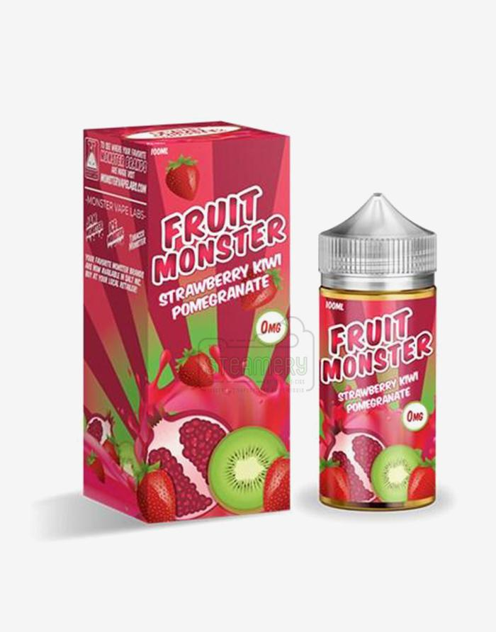 Fruit Monster Strawberry Kiwi Pomegranate 100ml - Steam E-Juice | The Steamery
